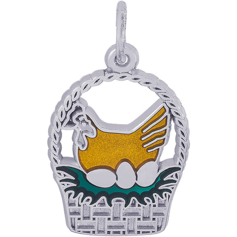 Three French Hens Charm