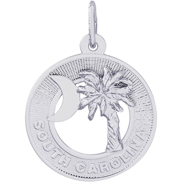 South Carolina Palmetto Ring Charm
