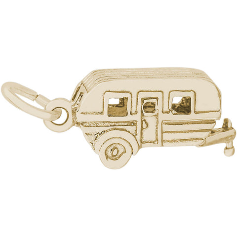 Camping Trailer Charm