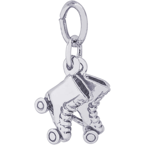 Roller Skates Accent Charm