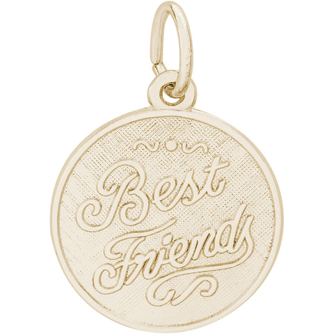 Best Friends Disc Charm