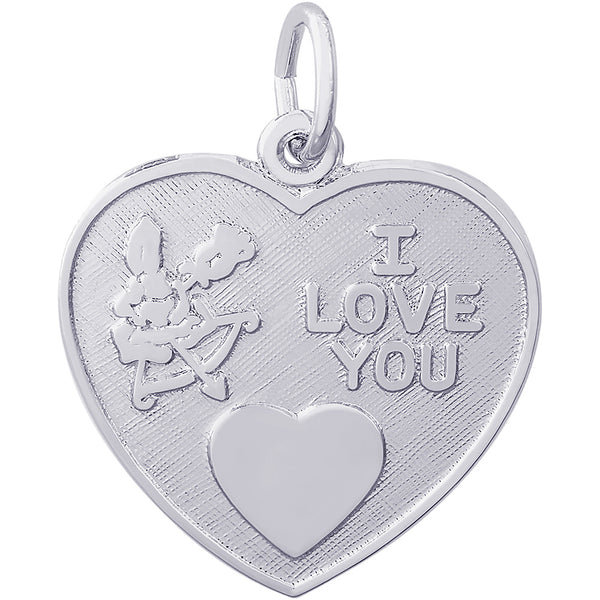 CUPID I LOVE YOU HEART - Rembrandt Charms