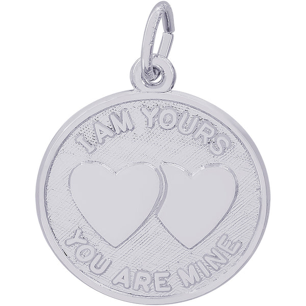 I Am Yours Disc Charm