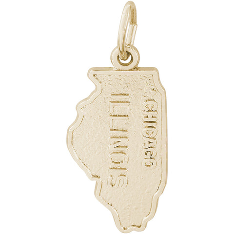 Chicago Illinois Map Charm