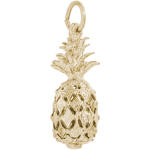 Hawaiian Pineapple Charm
