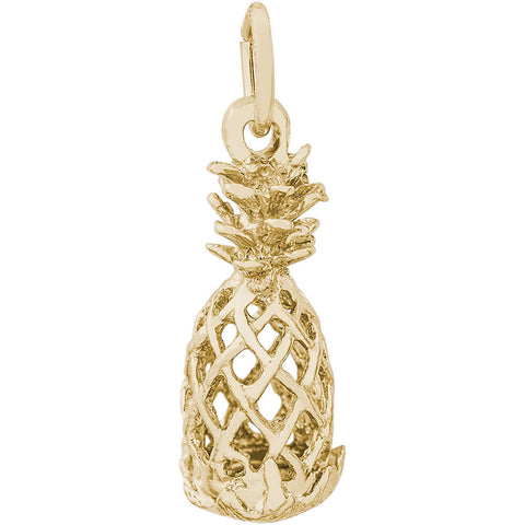 Hollow Pineapple Charm