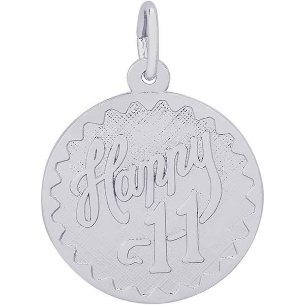 Happy Eleven Disc Charm
