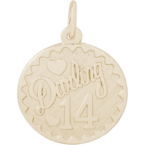 Darling Fourteen Disc Charm