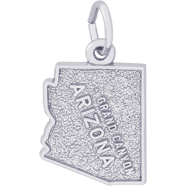 Grand Canyon Arizona Map Charm