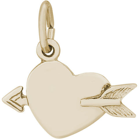 Love Struck Heart Charm