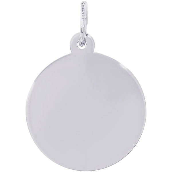 Small Round Disc Charm