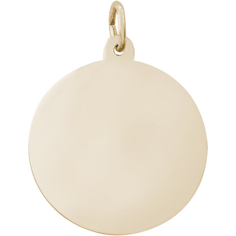 Large Round Disc Charm