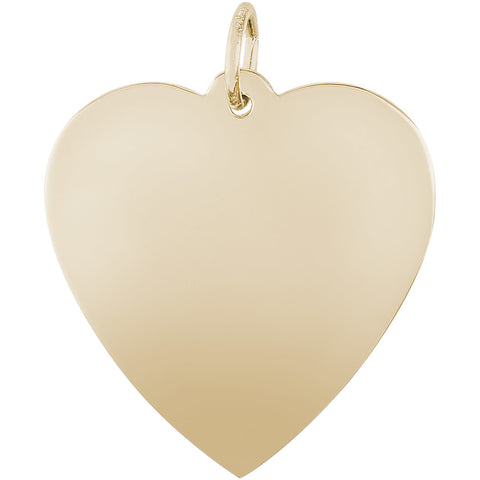 Large Classic Heart Charm