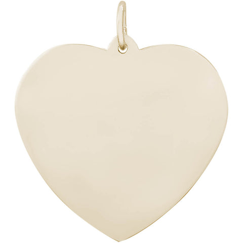 Extra Large Classic Heart Charm