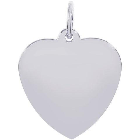 Small Classic Heart Charm