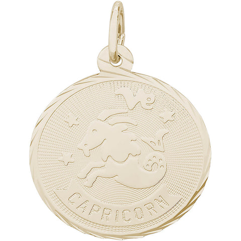 Capricorn Constellation Disc Charm