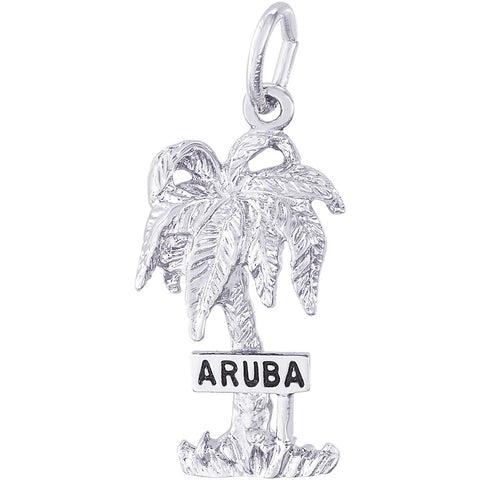 Aruba Palm Tree Charm