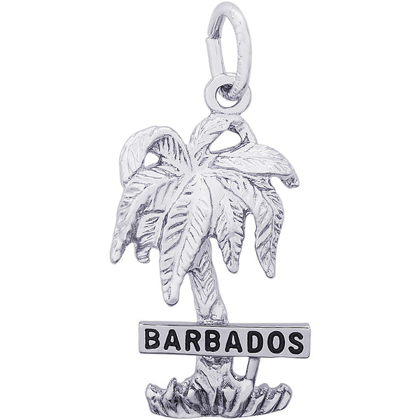 Barbados Palm Tree Charm