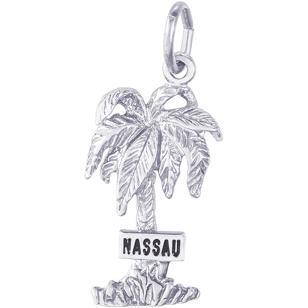 Nassau Palm Tree Charm