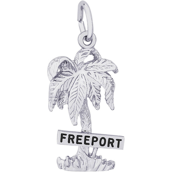 Freeport Palm Tree Charm