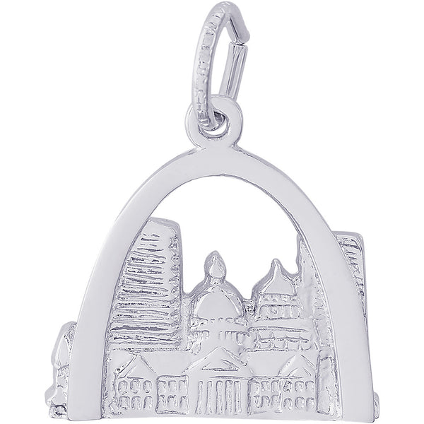 St. Louis Skyline Charm