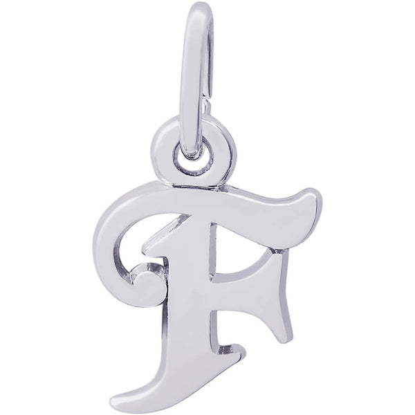 CURLY INITIAL F ACCENT - Rembrandt Charms