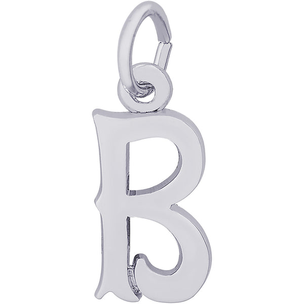 Blackletter Initial B Charm