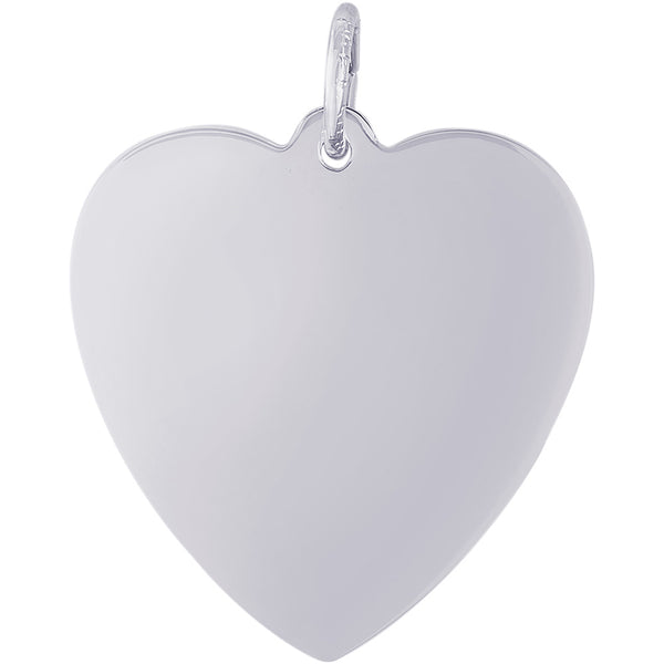 Medium Classic Heart Charm