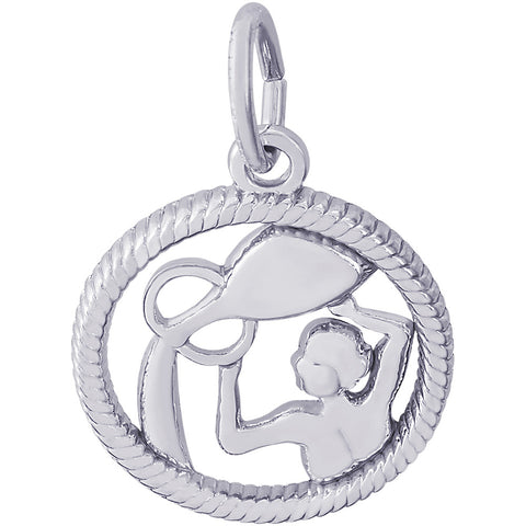 Aquarius Water Carrier Charm