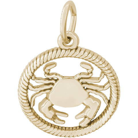 Cancer Crab Charm