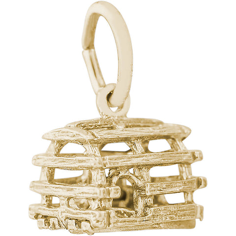 Lobster Trap Accent Charm
