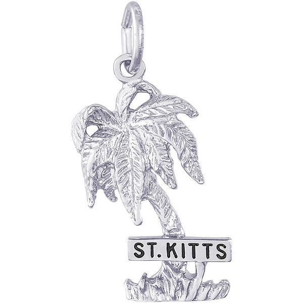 St. Kitts Palm Tree Charm