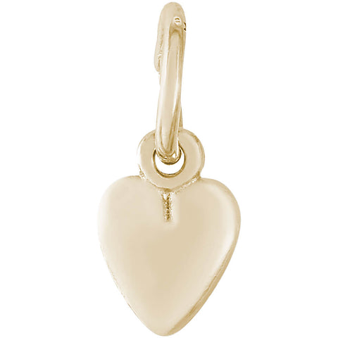 Heart Accent Charm