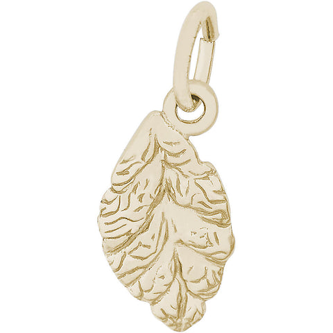 Beech Tree Leaf Charm