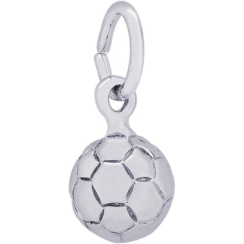 Soccer Ball Accent Charm