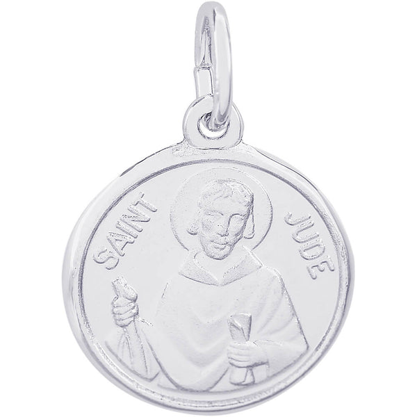 St. Jude Disc Charm