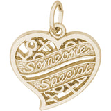 Someone Special Hugs & Kisses Heart Charm - Rembrandt Charms - 2