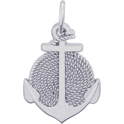 Rope Circle Anchor Charm