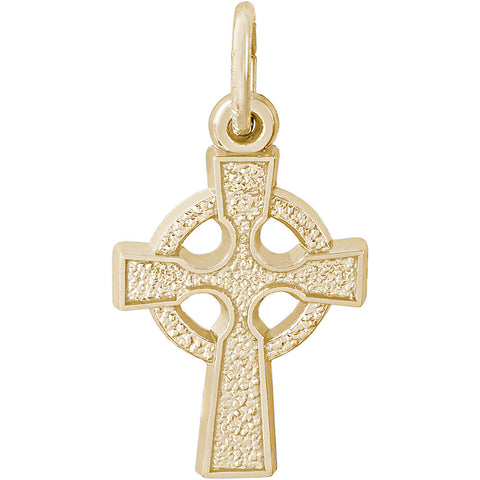 Celtic Cross Charm