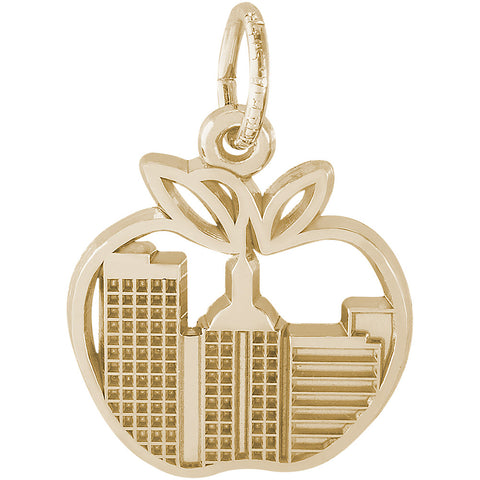 Big Apple Skyline Charm