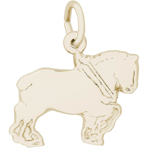 Flat Clydesdale Charm