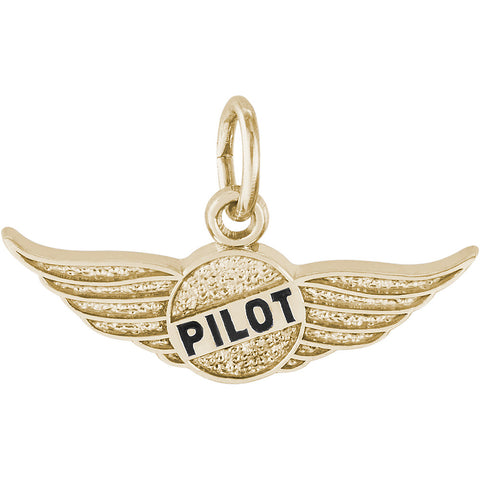 Pilot's Wings Charm