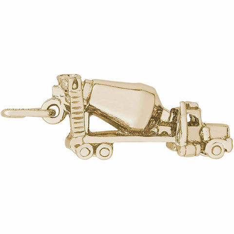 Cement Truck Charm