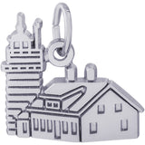 West Quoddy Head, ME Ligthhouse Charm - Rembrandt Charms - 1