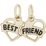 Best Friend Hearts Charm - Rembrandt Charms - 2