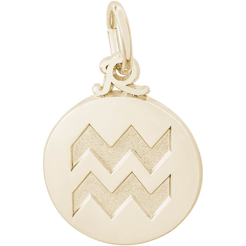 Aquarius Symbol Of The Sky Charm