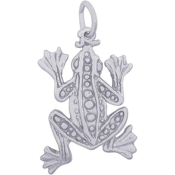 Leopard Frog Charm