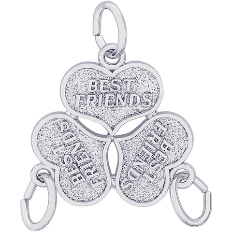 Three Best Friends Charm