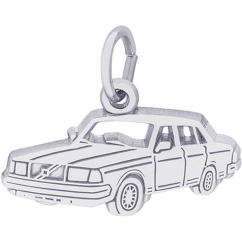 Flat Mid-Size Luxury Car Charm