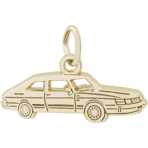 Flat Classic Luxury Car Charm